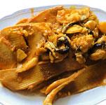 Guisado de pescado con col y patatas